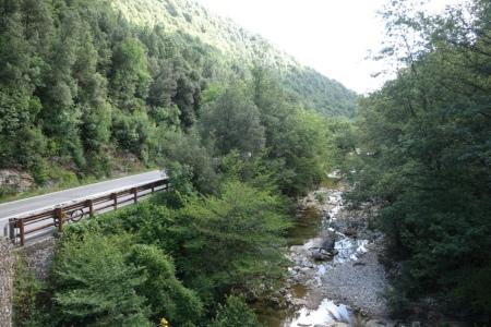 Ponte della Pia köprüsü üzerinden