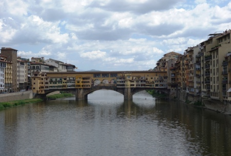 Arno Nehri ve Ponte Vecchio