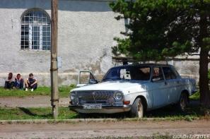 Ermenistan sınırı yakınlarında bir köy.